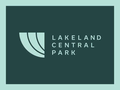 Lakeland Central Park Brand Identity logo design brand design graphic design brand identity branding