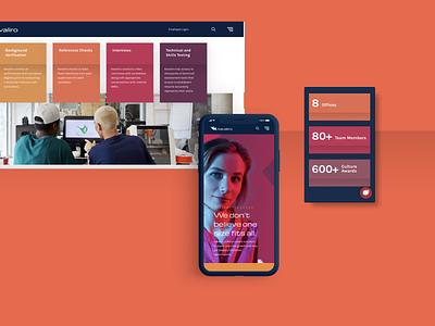 Kavaliro Website Redesign - Case Study animation website design website brand design design