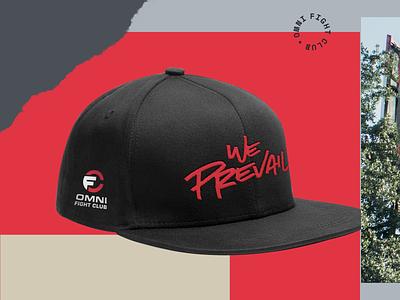 Omni Fight Club - We Prevail Snapback website brand design brand identity graphic design branding
