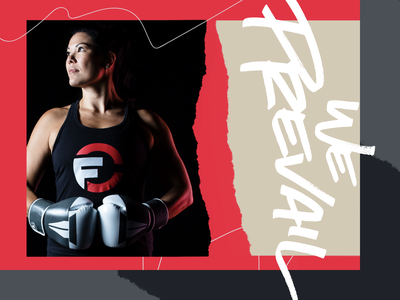 Omni Fight Club - We Prevail Photography & Graphics brand design brand identity graphic design branding