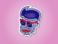 Jonny Zombie Stickers
