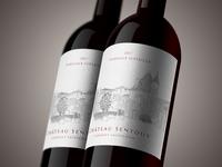 Château Sentout ~ Wine Bottle Mock Up