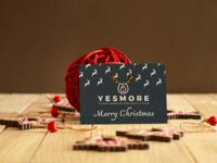 YesMore Christmas Card 2018