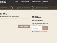 Outback Steakhouse Dine Rewards