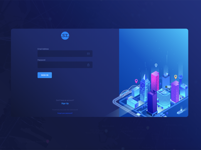 SZ SignIn and SignUp ReDesign