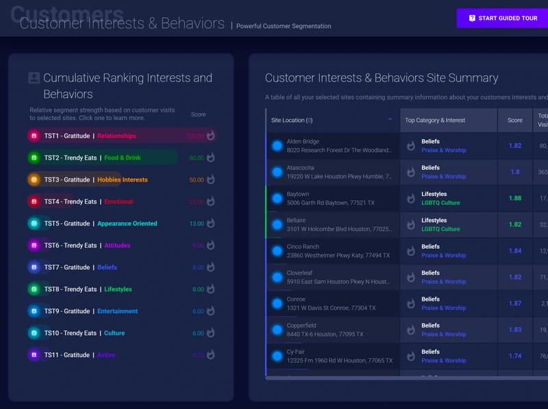 SiteZeus Customer Segmentation