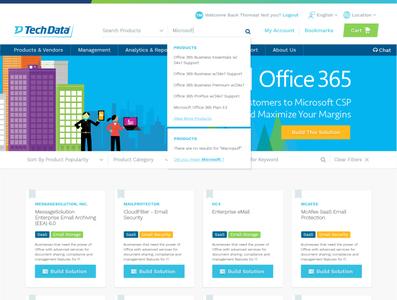 TechData E-Commerce Portal