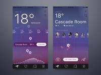 Places App - Night