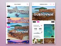 Travel App Visual Itinerary