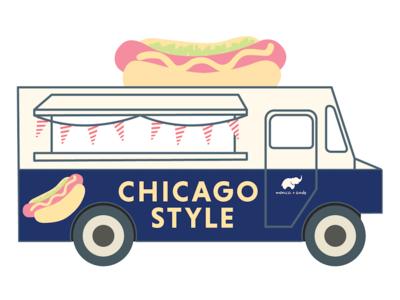 Food Truck Display