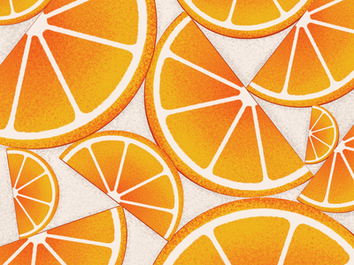 36 Days of Type - D type drawing fruit orange procreate 36daysoftype illustration
