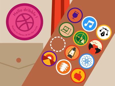 Dribbble merit badge