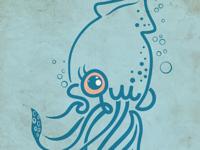 Squid Lettering