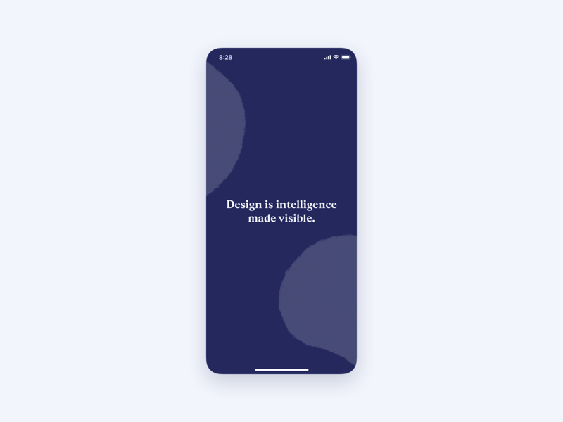 Design Knowledge ・ User Interface splash screen interface flat clean clean ui minimalism minimal illustration ios application product design product user experience wabi-sabi design knowledge app ui user interface ux design