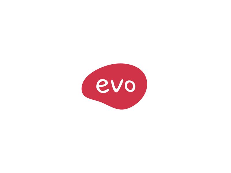 Evo ・ Logo vector minimal graphic graphic design flat fashion casual clothing sketch font visual identity branding brand evo typography symbol identity logotype logo design