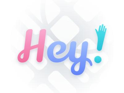 Hey! ・ Logo
