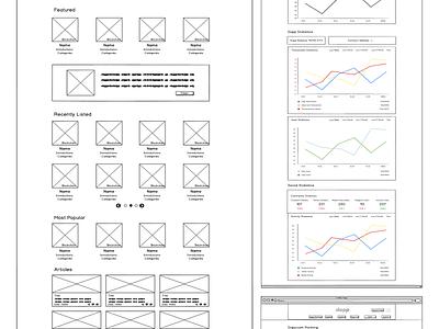 Dapp.com ・ Low-Fidelity Wireframing tron neo steem eos ethereum dapp.com dapps dapp web product design interface design product ux low-fidelity wireframes low-fidelity wireframes low-fidelity design usability testing usability