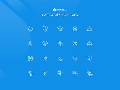 Kitabisa Icon Pack