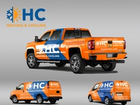 Vehicle Wrap for HC Heating Cooling Company