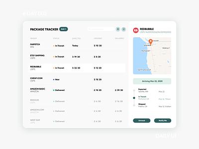 Daily UI Challenge 002 - Package Tracking Desktop App Design app design design delivery status package tracking dailyuichallenge dailyui green desktop app ui