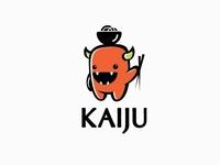 Cute monster logo design
