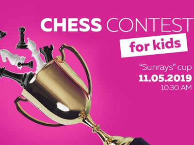 Social media advertisement for a chess contest