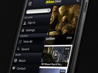 Video App UI