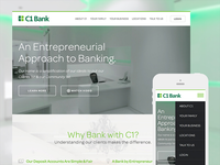 C1 Bank Website