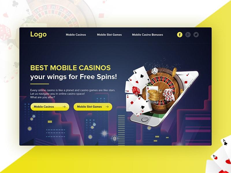 Best Mobile Casino By Helen Arutyunyan On Dribbble