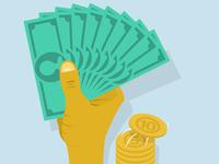 Money on hand