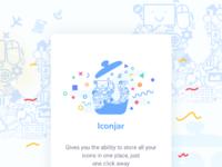 Iconjar app