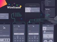 App Wirefram