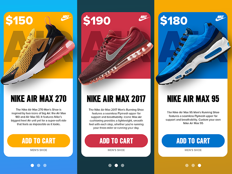 Nike In-App Promotions Concept