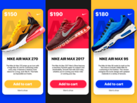 Nike In-App Promotions Concept (Redesign)