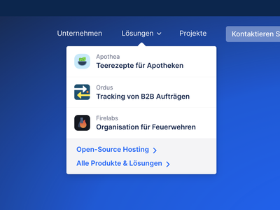 Dropdown Navigation Menu navigation web simple blue logos icons list dropdown menu dropdown ui menu products dropdown