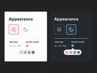 Daily UI Challenge #007 - Settings