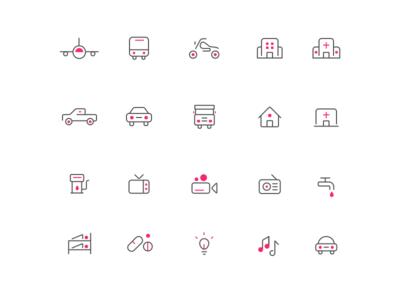 Line Icons April 2017