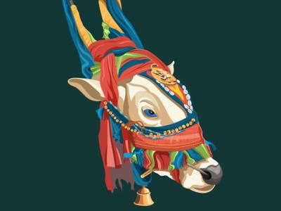 Kole Basava (Decoarated Bull) WIP