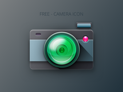 Free Camera Icon photos lens sketch free-icon camera