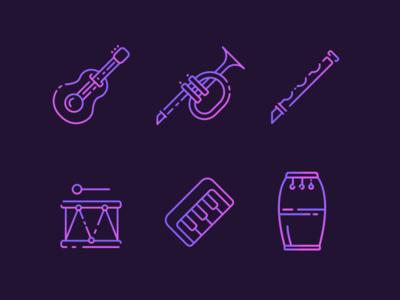 Musical Instruments Freebie
