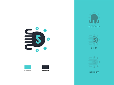 Logo Design - Snatch Dreams charade cyan turquoise teal flat design branding icon logo