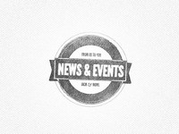 News & Events Stamp