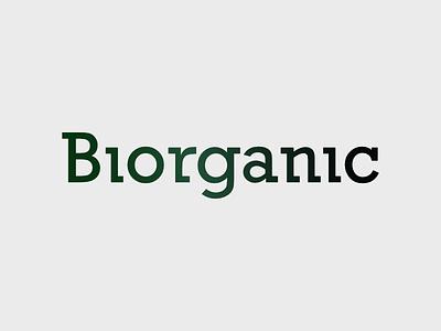 Biorganic Logo Design aftereffects logofolio portfolio first shot debut animation gif minimalist branding logo