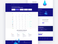 Isometric Blockchain Financial website
