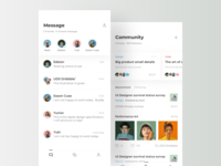 Social Chat Concept Design
