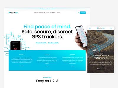 Spytec GPS shopify plus shopify theme ecommerce shopify homepage branding design typography minimal flat design ux ui