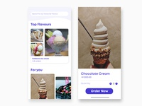 Ice cream Store and checkout