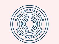 Blue Country Club Logo -