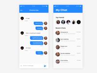 Chat Exploration UI
