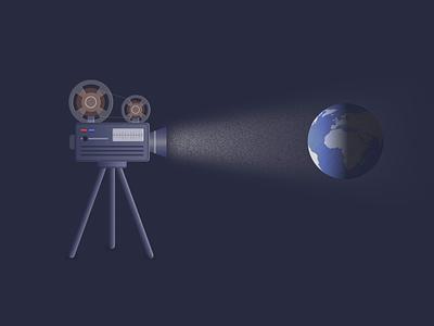 Truman vector animation illustration design